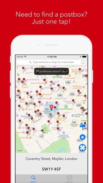 apple watch app postcode